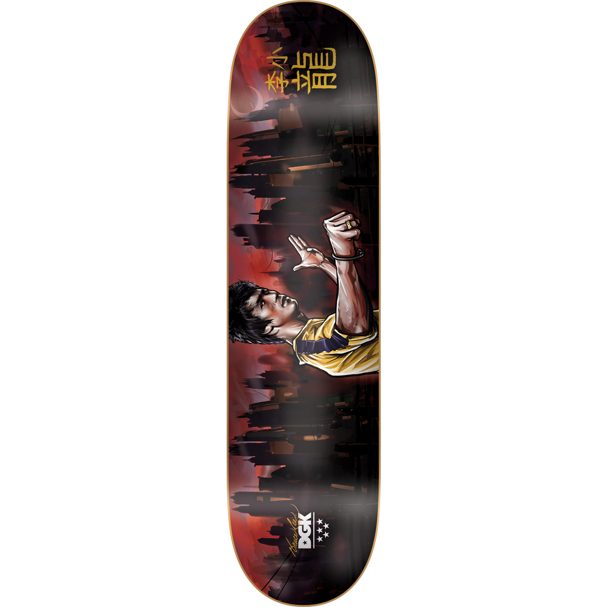 Warrior DGK Skate Deck