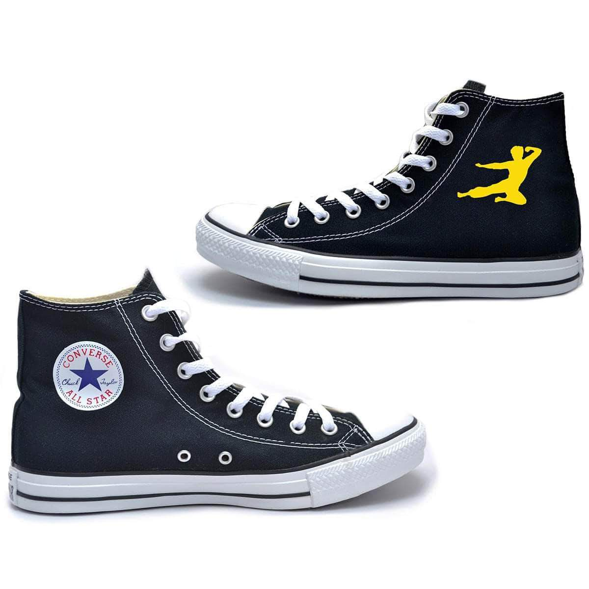 Flying Man Converse All-Star High Top