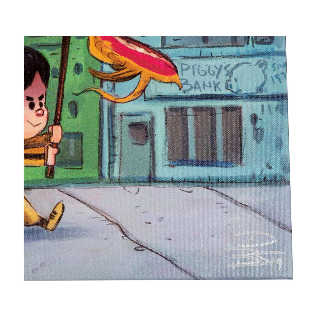 "ARTIST SERIES: ""The Dragon Dance"" Artist Signed Canvas Print"