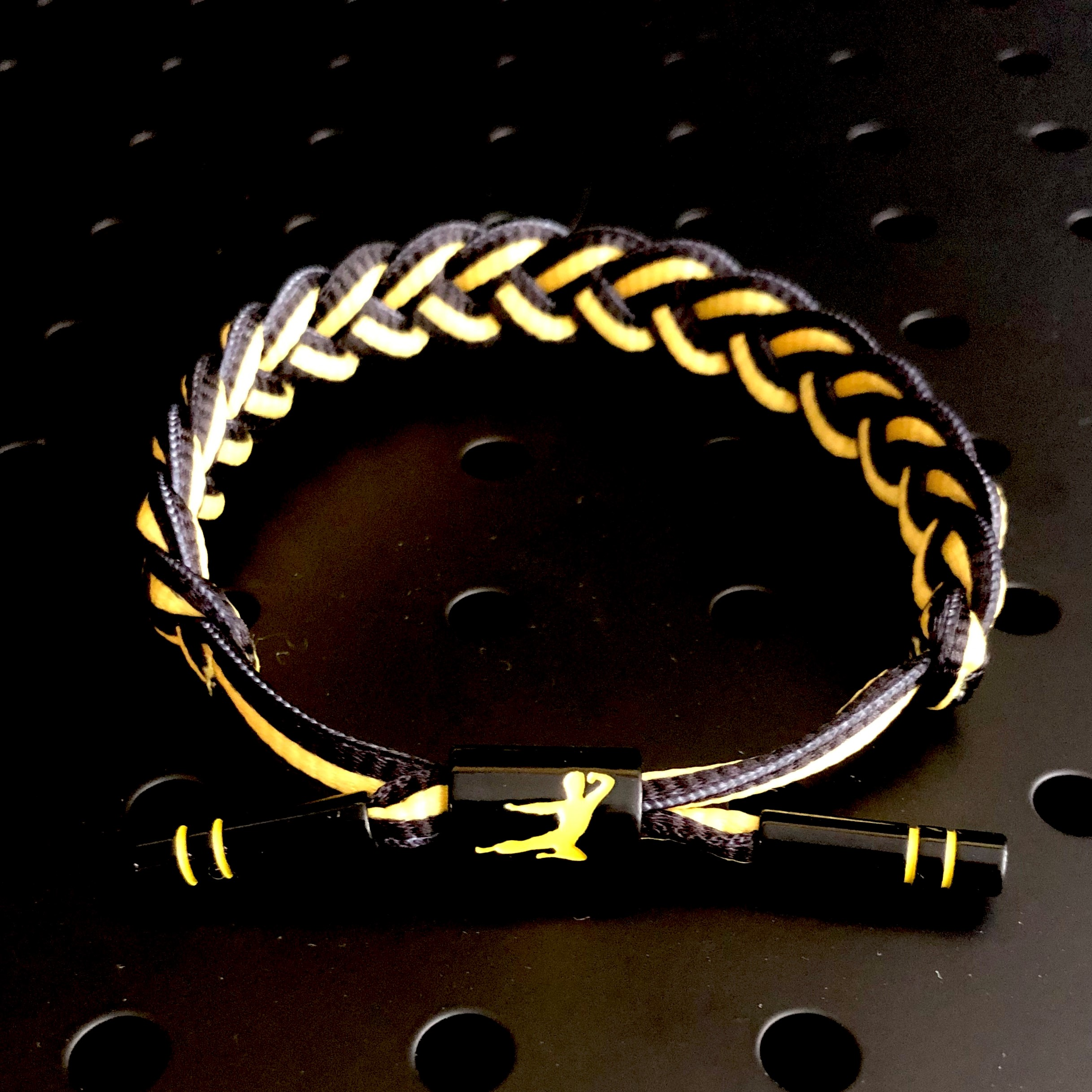 Infinite Optimism Rastaclat Bracelet - Black
