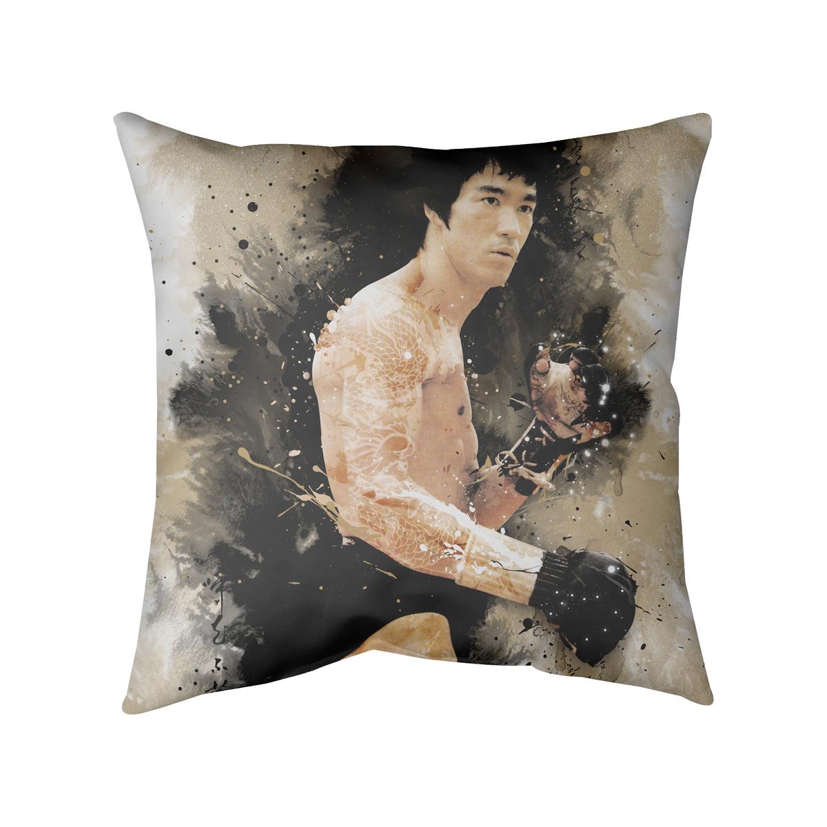 Dragon Story Decorative Pillow