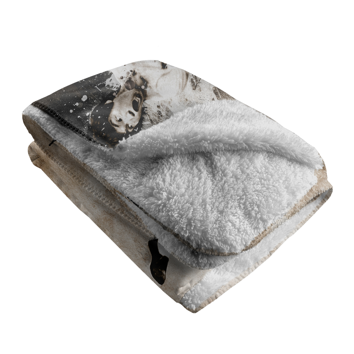 Breakthrough Sherpa Fleece Blanket