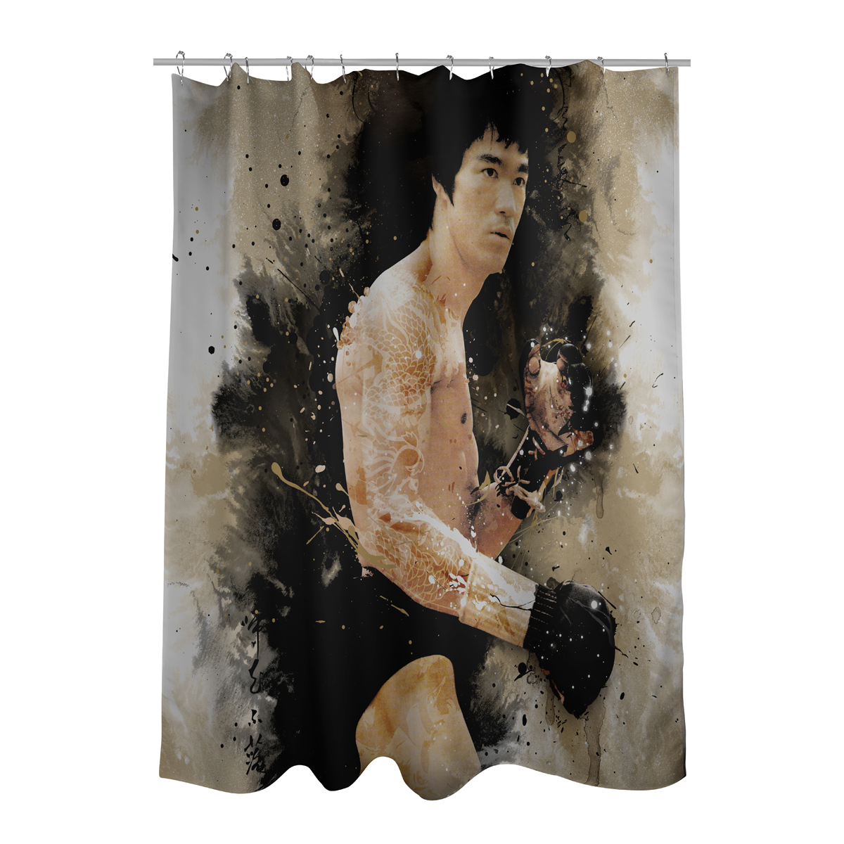 Dragon Story Shower Curtain