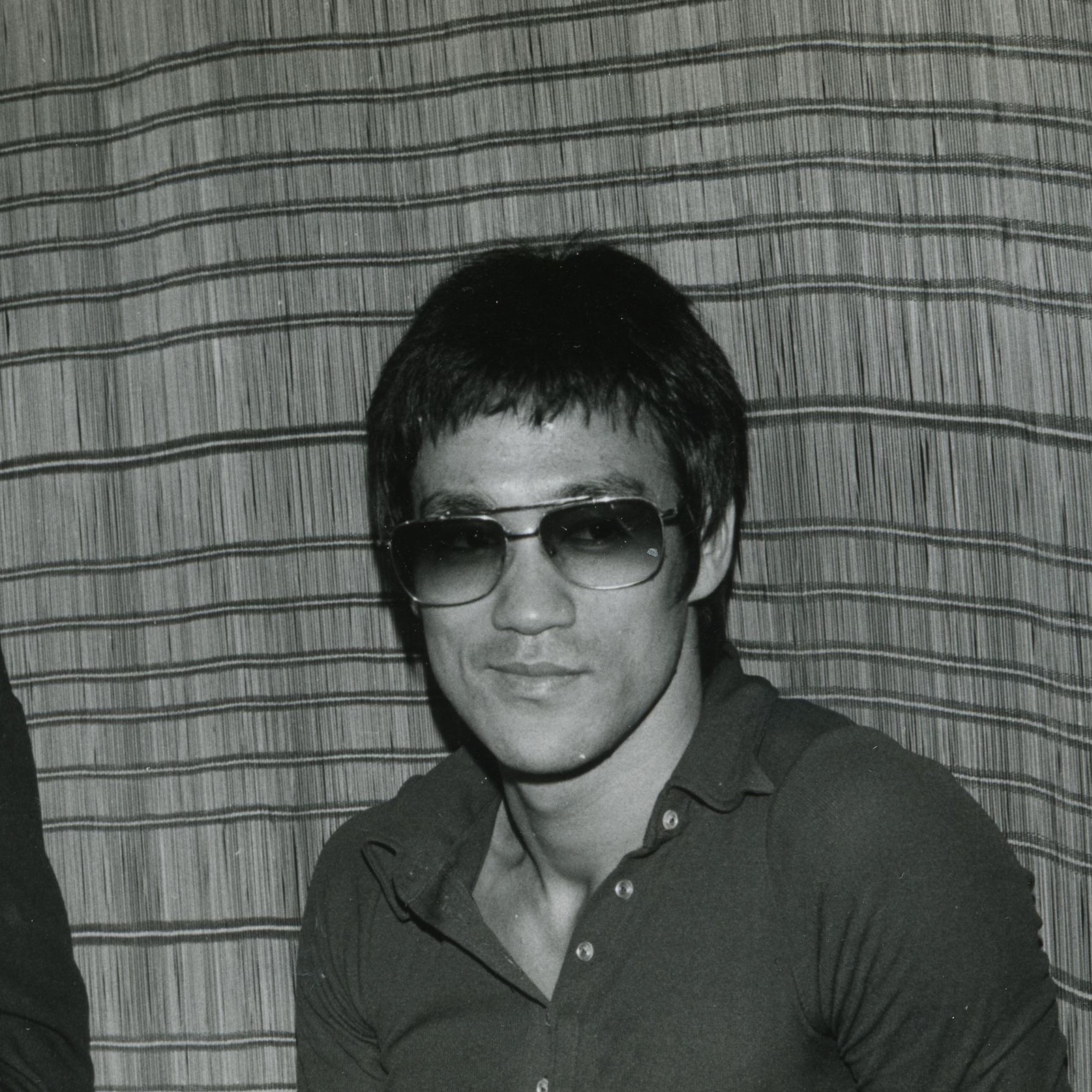 Bruce Lee Gold Metal Sunglasses