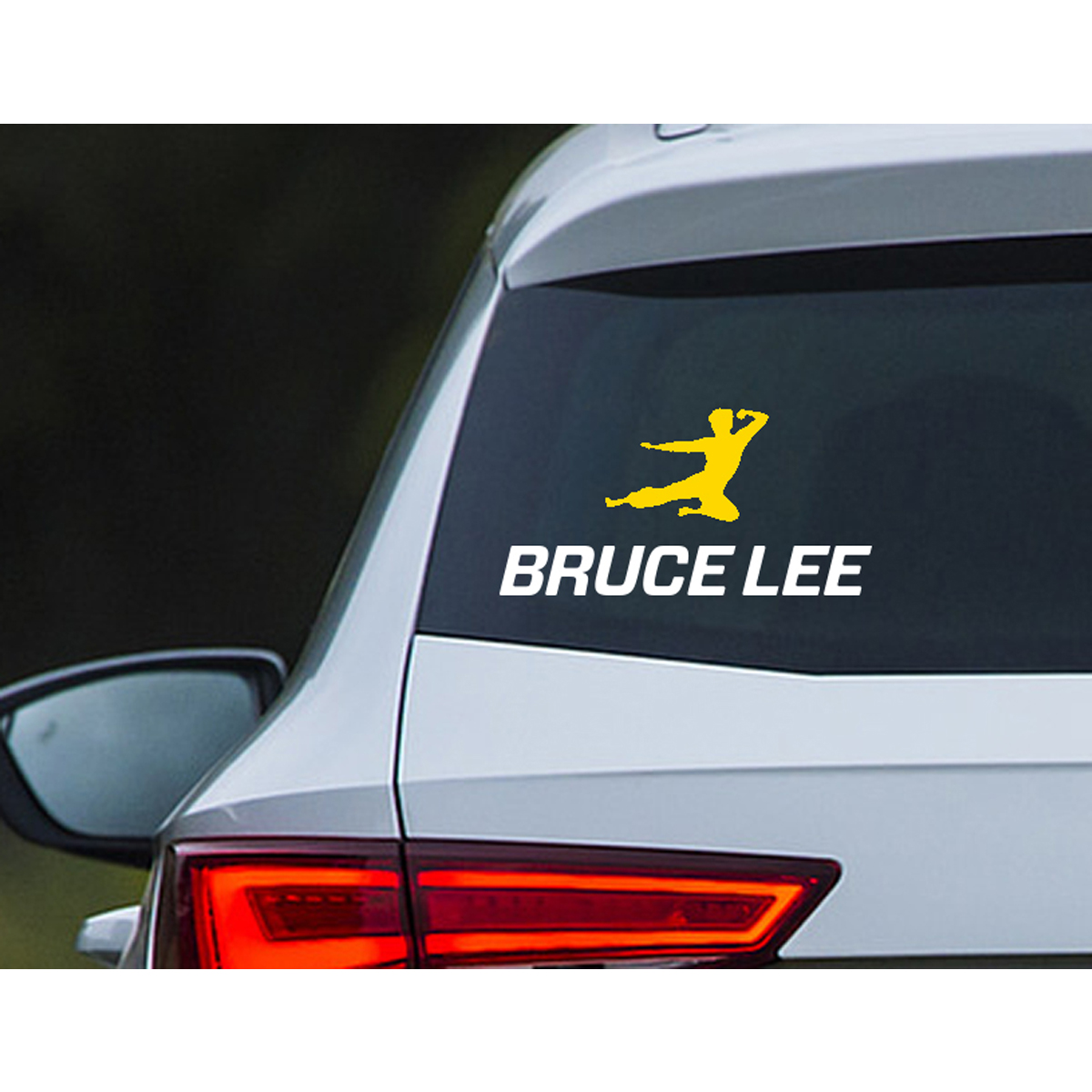 Flying Man Car Decal (2-piece)