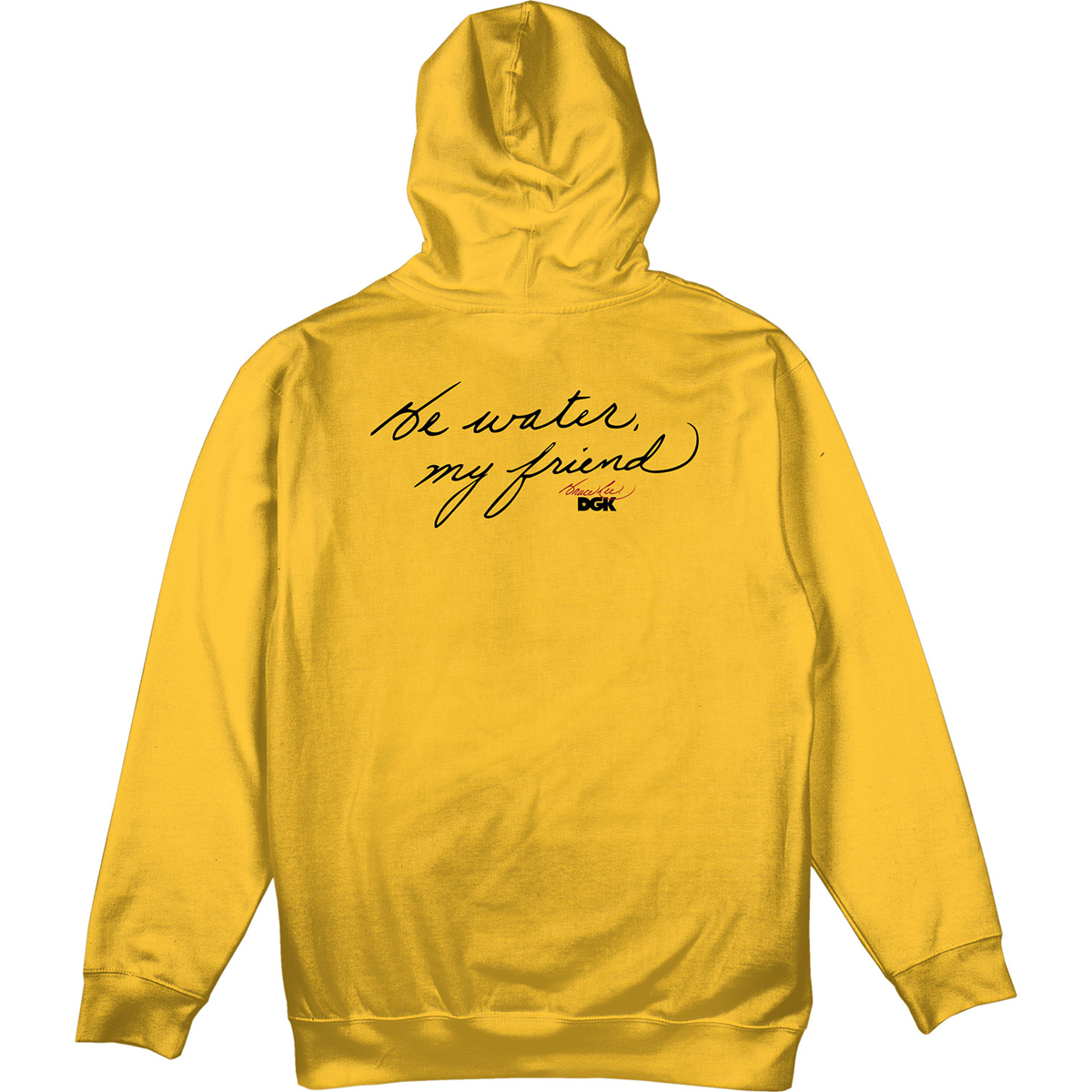 Focused DGK Pullover Hoodie - Gold