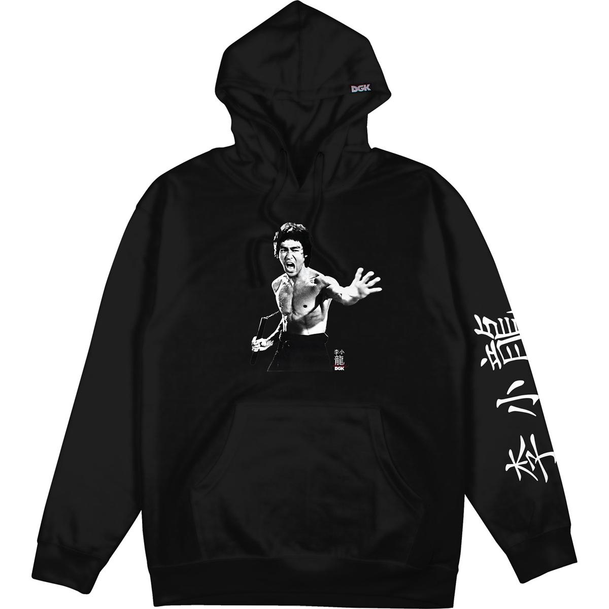 Fierce DGK Pullover Hoodie - Black