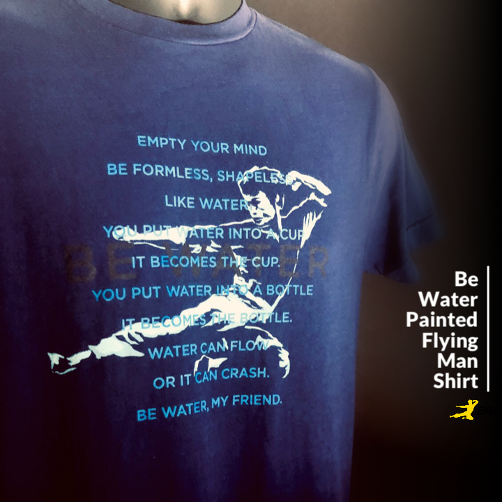 Be Water Painted FM T-shirt