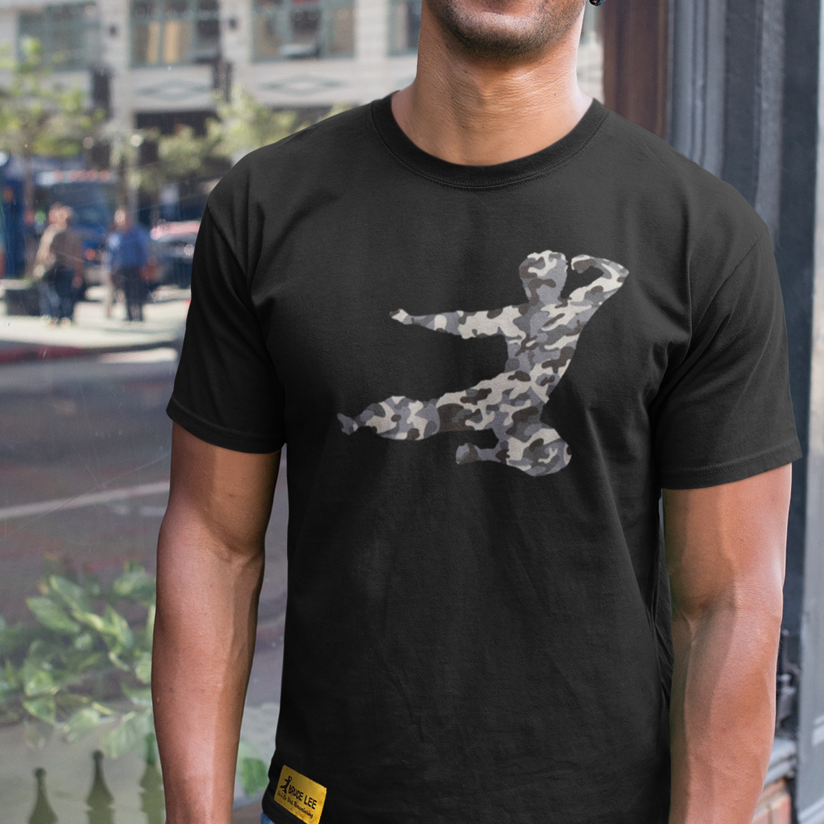 Flying Man Camo T-shirt