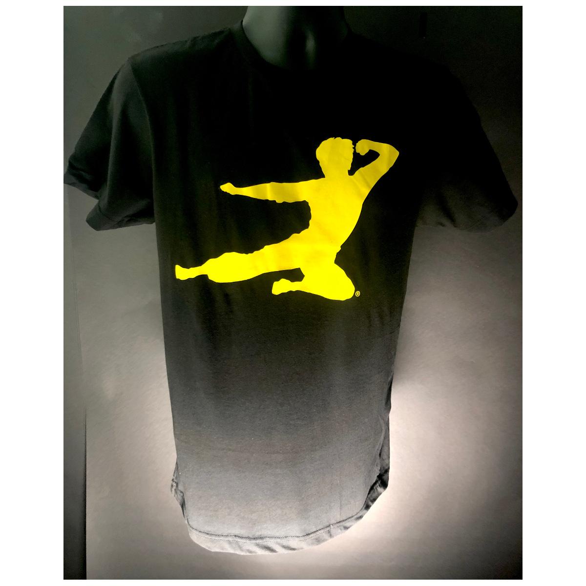 Flying Man T-shirt - Black