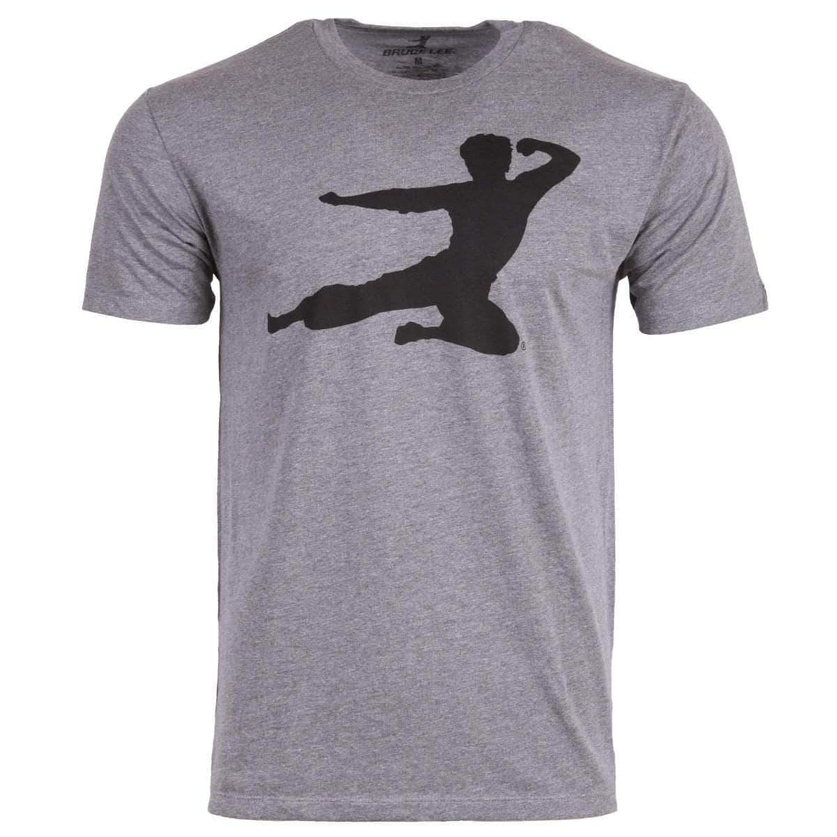 Flying Man T-shirt - Heather Grey