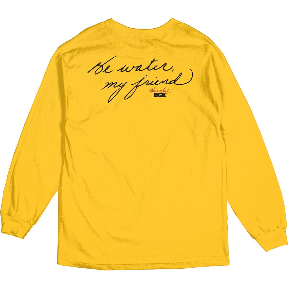 Warrior DGK Long Sleeve T-shirt - Gold