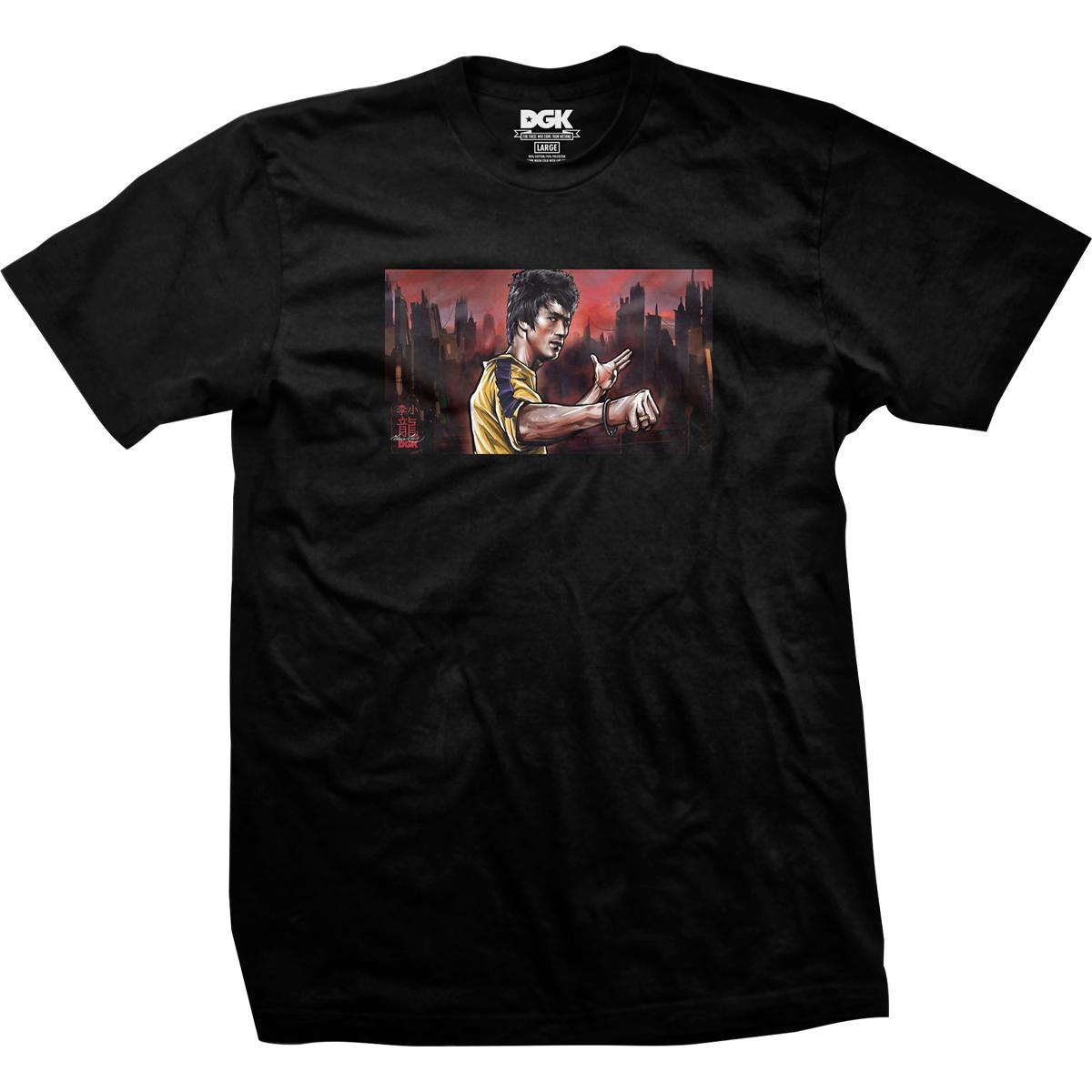 Warrior DGK T-shirt - Black