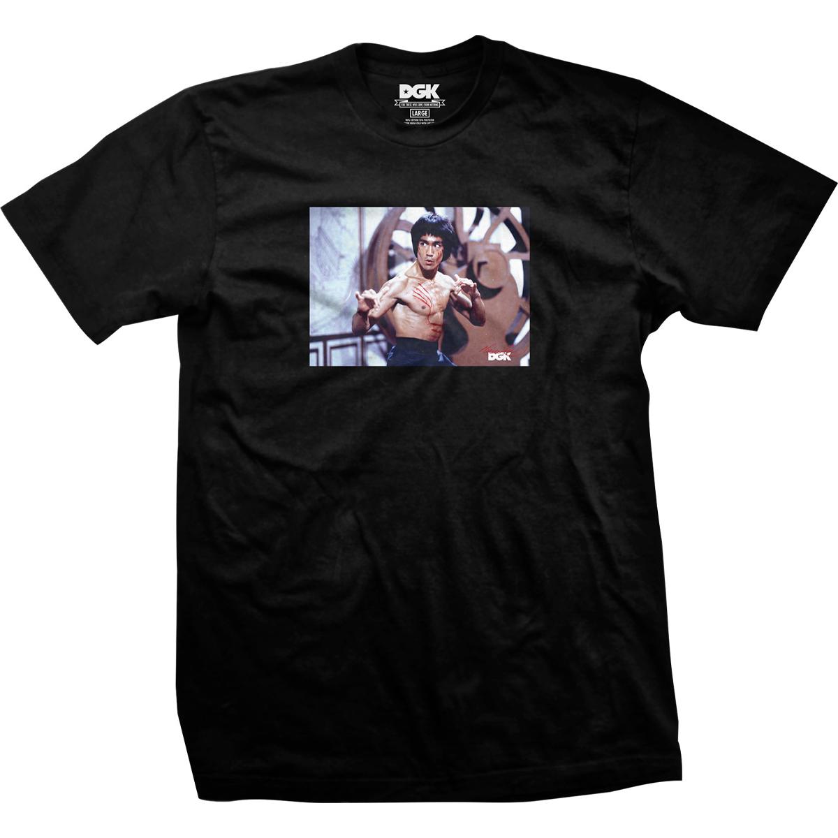 Scratch DGK T-shirt - Black