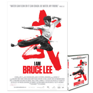 I Am Bruce Lee Litohgraph /DVD Combo