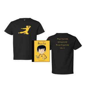 Flying Man Youth Tee + Little People BIG DREAMS Bundle