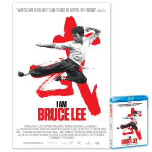 I Am Bruce Lee Poster/Blu-Ray Combo