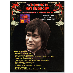 Bruce Lee - Knowing Is Not Enough Newsletter Summer 1998