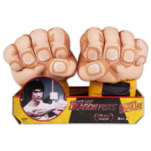 Bruce Lee Plush Jumbo Electronic Fists