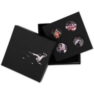 Bruce Lee LTD Edition Color Lapel Pin Set