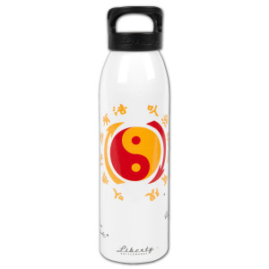 Bruce Lee Core Symbol White Liberty Bottle