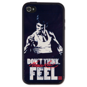 Bruce Lee Don't Think Feel iPhone 4/4S Case