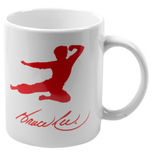 Bruce Lee Flying Man Mug
