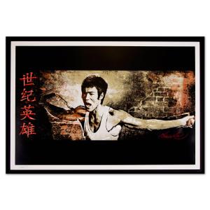 Bruce Lee 'Hero for the Ages' Framed Fine Art Print (LTD Edition of 200)