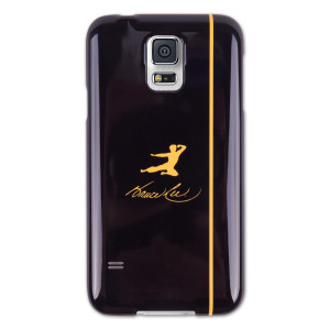 Bruce Lee Yellow Kick Logo Galaxy S5 Phone Case