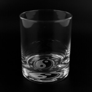 Core Symbol 13.5oz Etched Glass