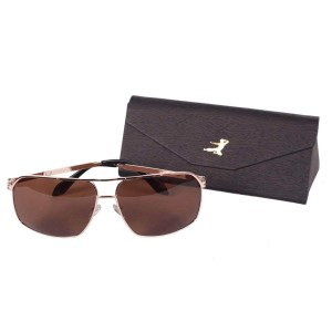 Bruce Lee Signature Metal Sunglasses w/ case