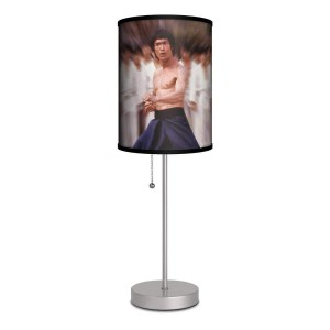 Bruce Lee Stance Lamp