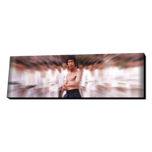 Bruce Lee Fighting Stance Wall Art