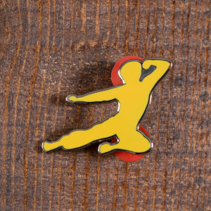 Flying Man Ltd. Ed. Yellow Pin