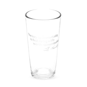 Key to Immortality 16oz. Etched Glass