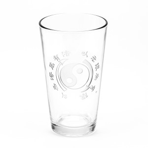 Core Symbol 16oz. Etched Glass