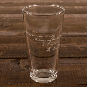 No Limitation 16oz. Etched Glass