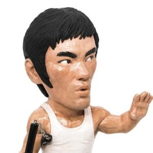 Bruce Lee Plastic Cell Action Figure