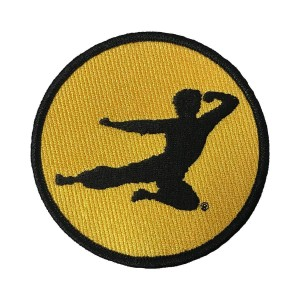 Flying Man Embroidered Patch