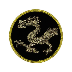 Lee Little Dragon Woven Patch