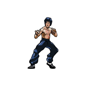 Bruce Lee Collectible Pin x FiGPiN