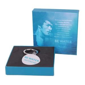 Be Water, My Friend Metal Keychain