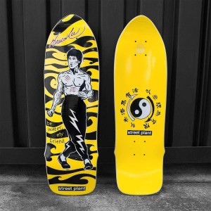 Be Water Mike Vallely Skate Deck