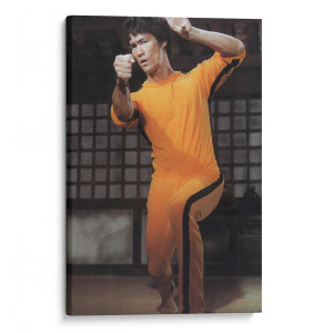 Bruce In The Pagoda Canvas Print