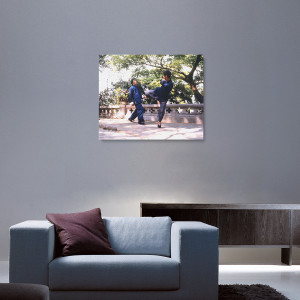 Teacher & Student Canvas Print