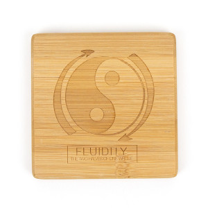 Stages of Cultivation Bamboo Coasters Set of 4