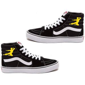 Flying Man Vans Sk8-Hi Top