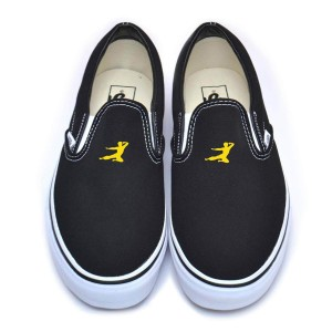 Flying Man SM Vans Classic Slip-On