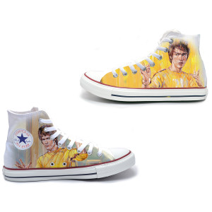 ARTIST SERIES: Milton Wong Converse All-Star High Top