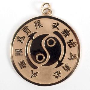 Core Symbol Small 10k Yellow Gold Medallion